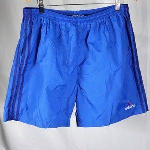 Adidas Swim Blue Shorts Size XL